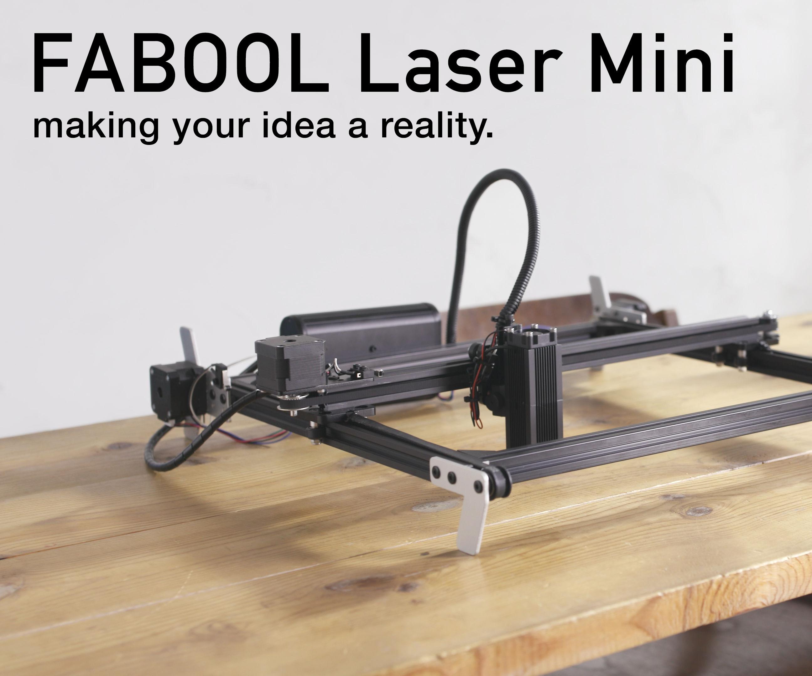 DIY Desktop Laser Cutter and Engraver - FABOOL Laser Mini