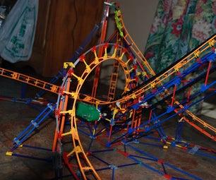 Lightning Strike Knex Roller Coaster