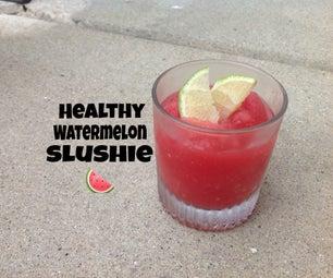 Watermelon Slushies (vegan)
