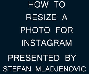 How to Resize a Photo for Instagram using Adobe Photoshop CS