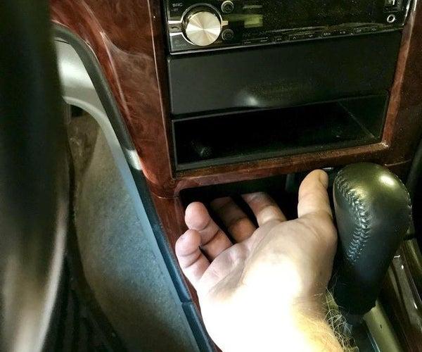 Invisible Garage Door Remote