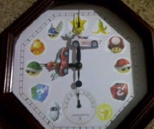 Mario Kart Wii Clock