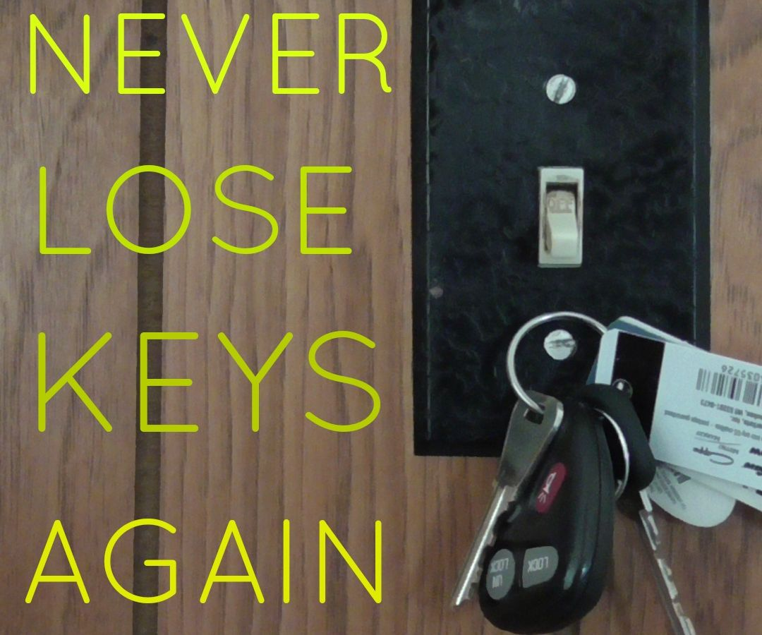 Make Any Light Switch a Magnetic Key Holder (VIDEO)