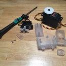 3D Printed RC Servo Case (Hitec HS-645MG)