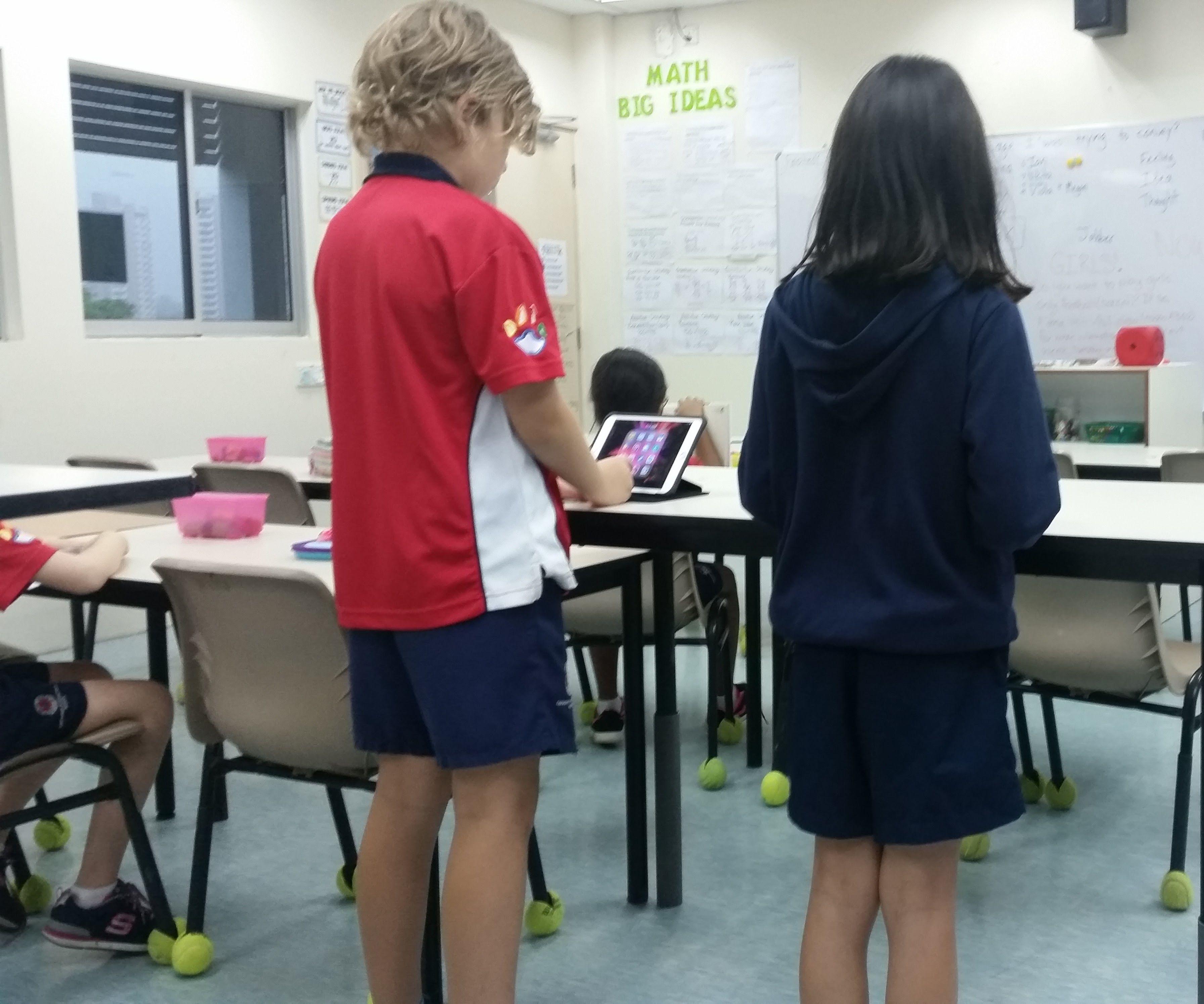 Classroom Standing Desk