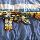 Knex assault rifle G20 F
