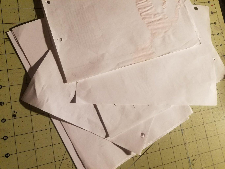 Get Yourself a Bunch of Scrap Paper