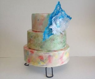 Water Color Technique for Your (Wedding) Cake