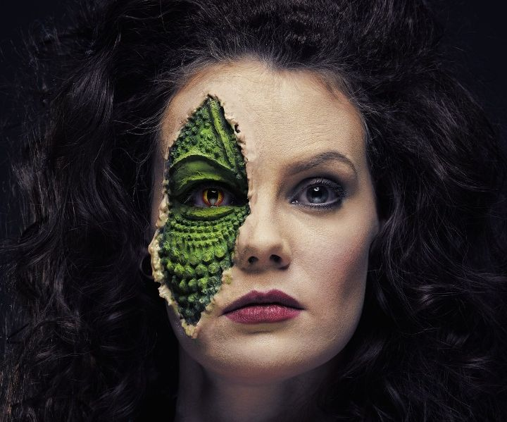 The V Series 1983 Reptile Diana - SFX Makeup Tutorial