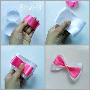 2 Ribbons Hair Bows