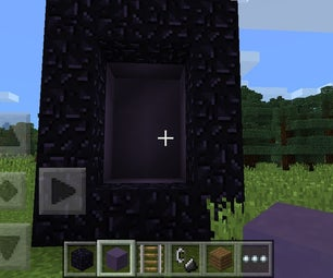 How to Trick Your Friends to Believe the Nether in Minecraft Pe