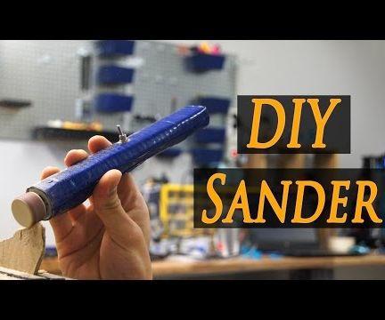 DIY Dremel Sander Machine