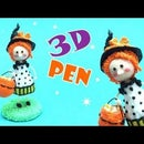 Little Witch- 3D Printing Pen- Halloween