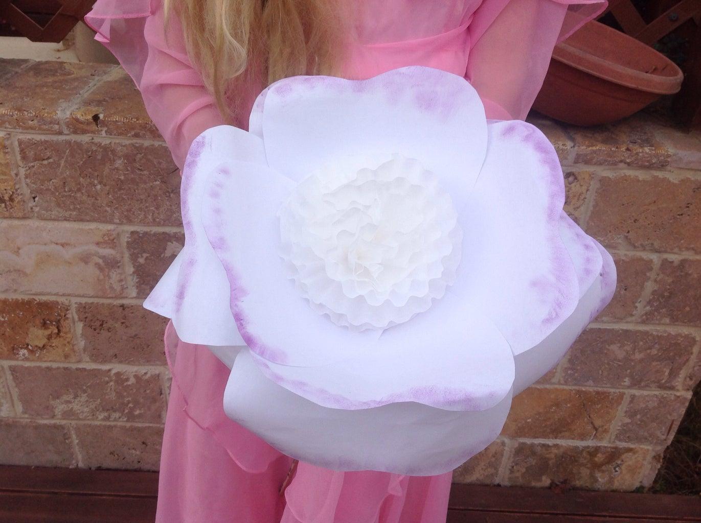 Paper Wedding Bouquet Handmade