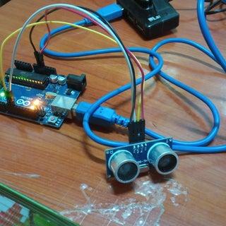 Interfacing Ultrasonic Sensor With Arduino