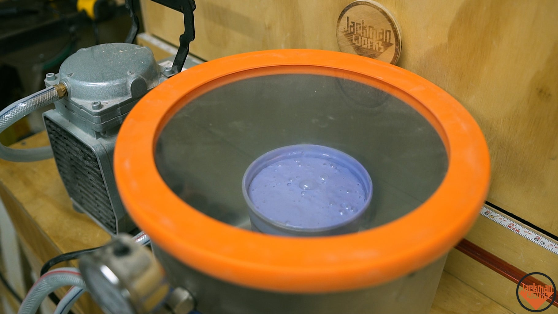 Pouring the Silicone Mold