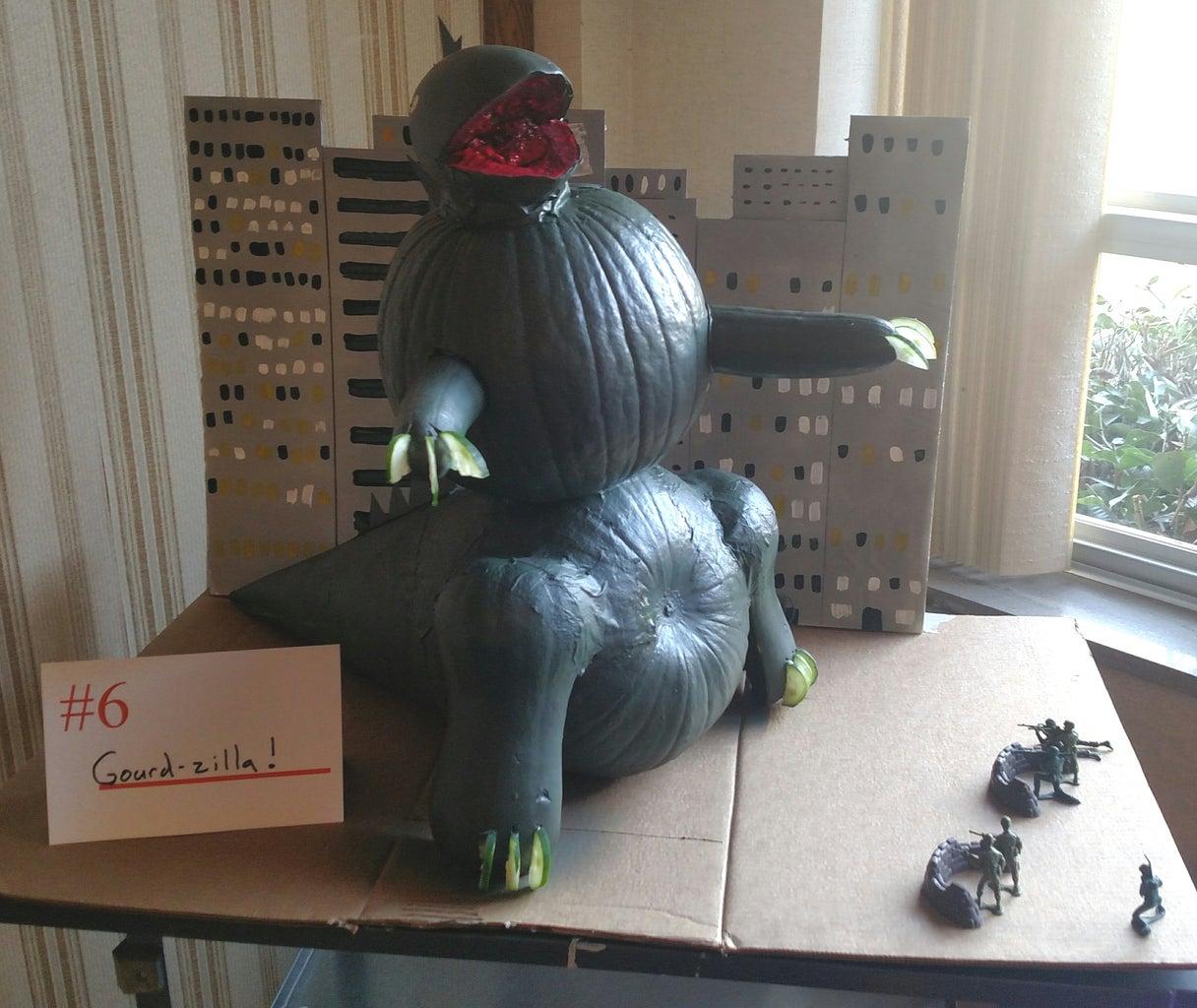 GOURDZILLA! - Godzilla Pumpkin