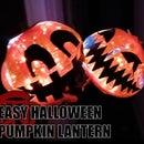 Easy Halloween Pumpkin Lantern