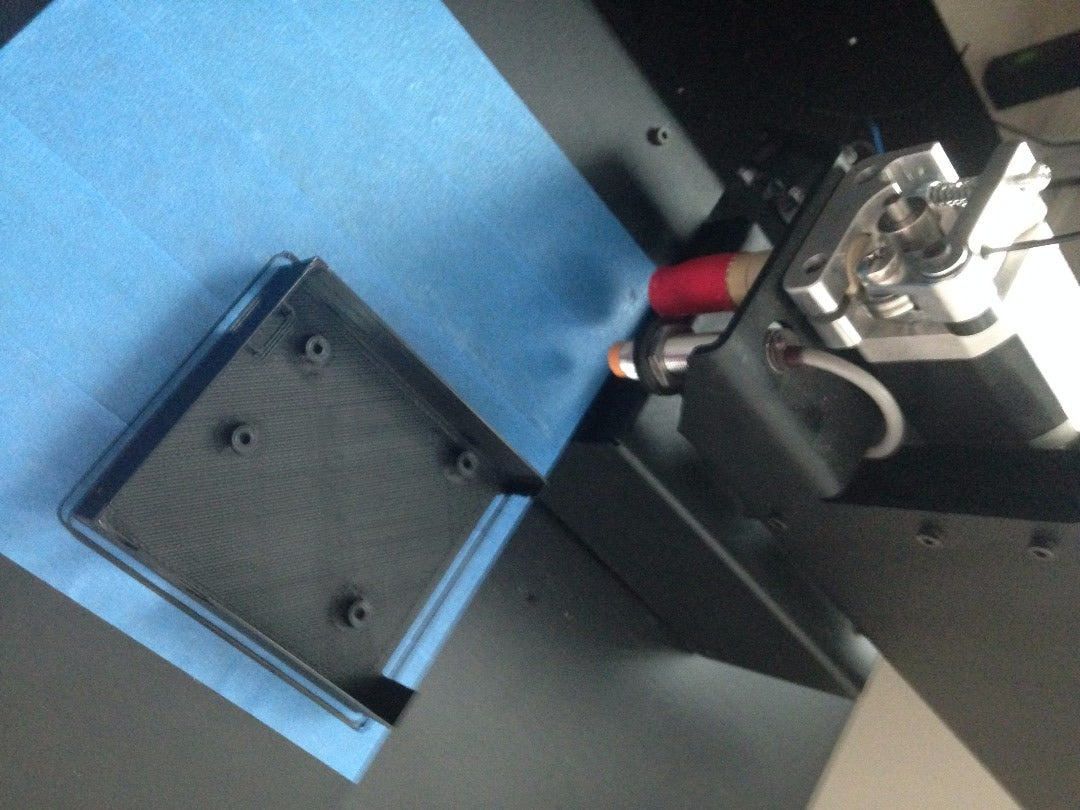 3D Print the Base and the Bottom Using PLA