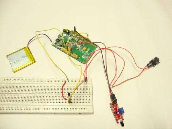 Linkit ONE: Flame Sensor