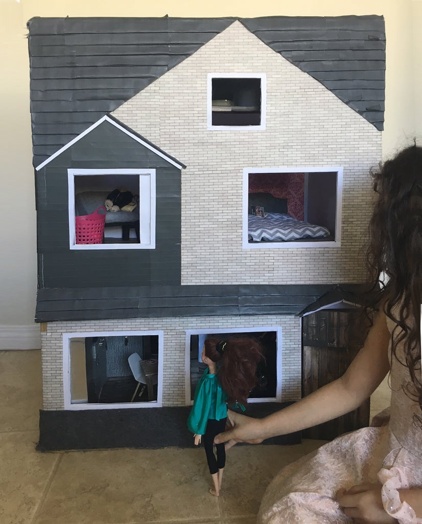 Ultimate $10 Dollhouse With 15+ DIY Furniture/accessories