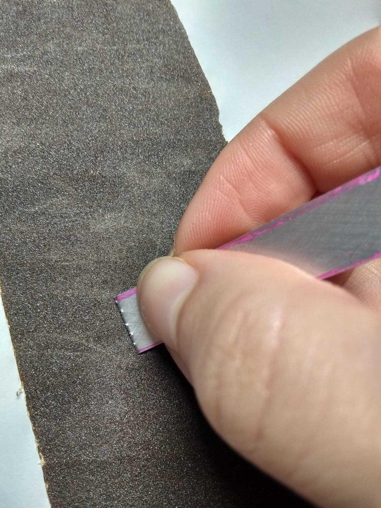 Step 4: Sandpaper