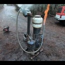 Using Wood to Fuel a Generator! (How to Build a Wood Gasifier w/Demonstration)