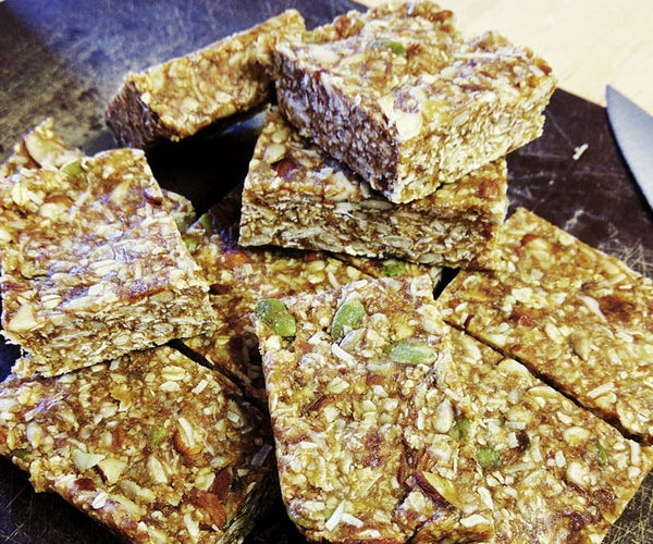 Seed, Nut and Coconut Breakfast Bars