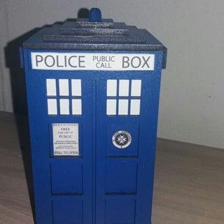 Doctor Who TARDIS Laser Cut Money Box