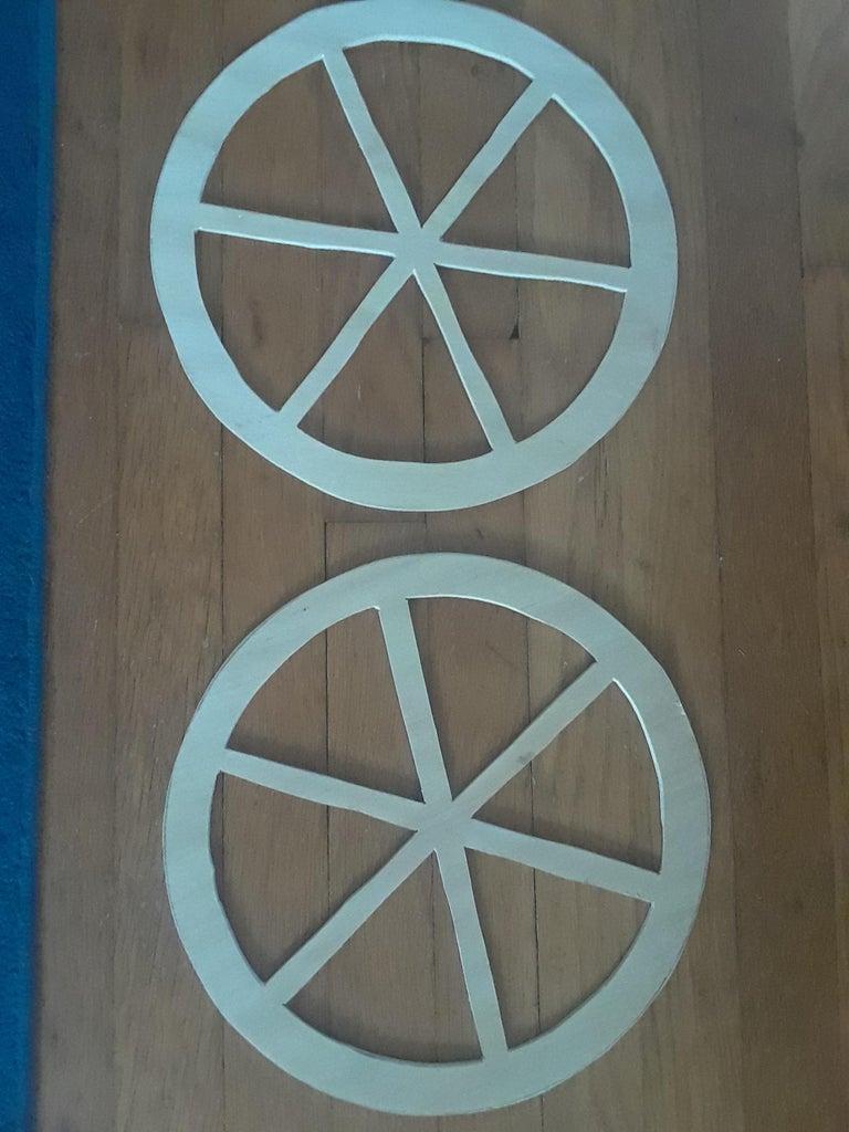 Step 2: Cutting the Circles
