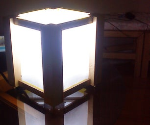 Oriental-Inspired Lamp