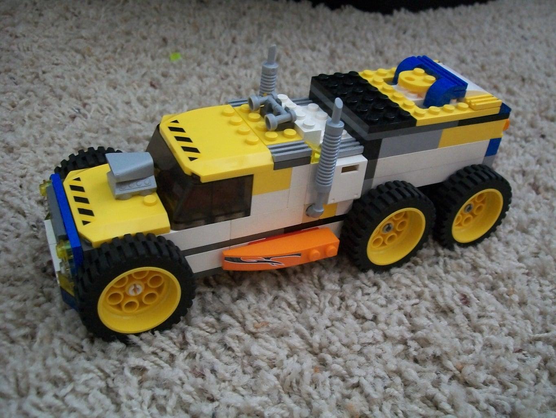 Low Ride'n Lego Truck