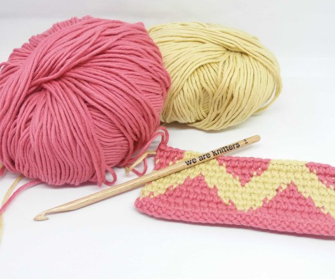 How to Work Reverse Single Crochet
