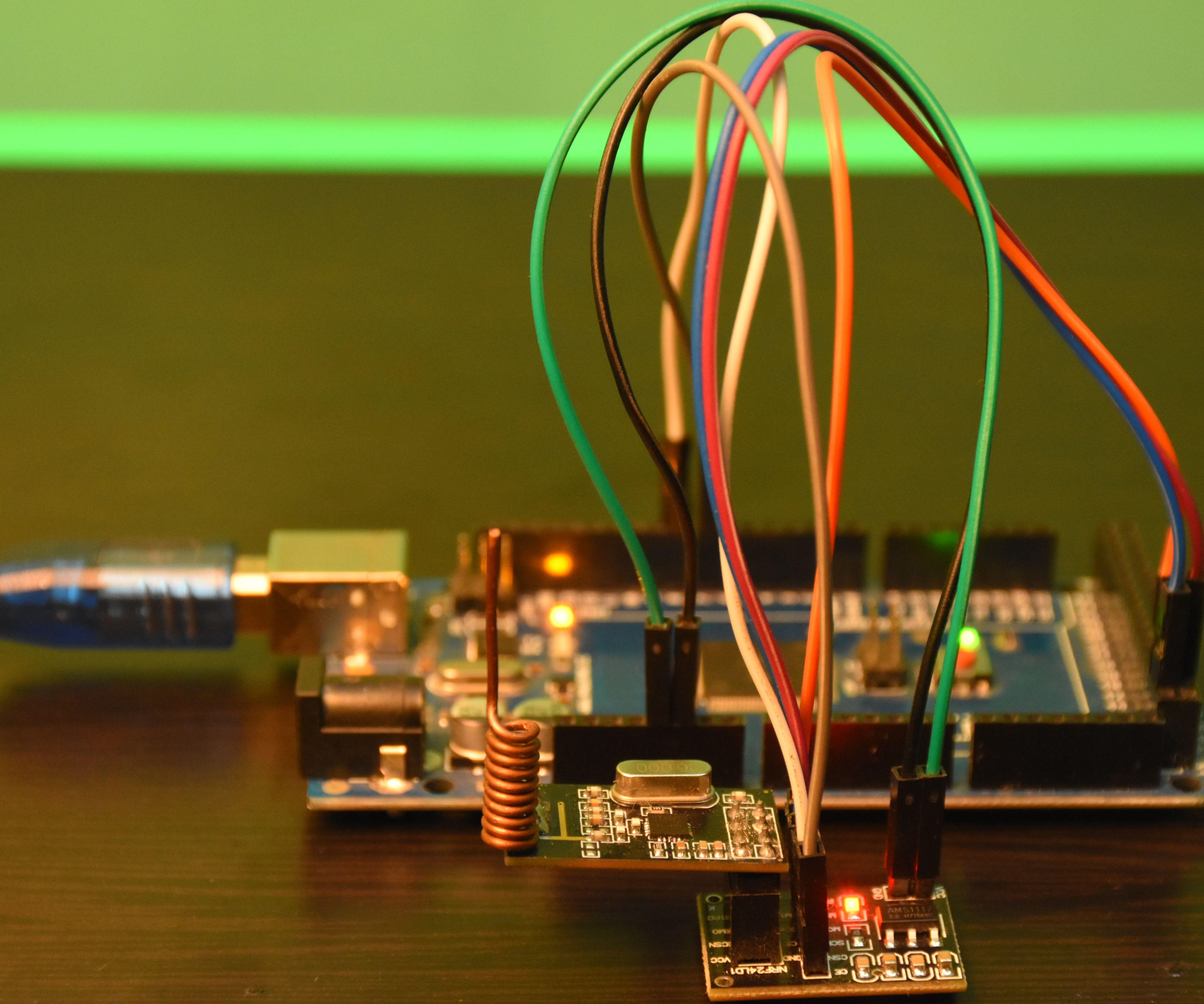 Arduino Wireless Communication Using NRF24L01