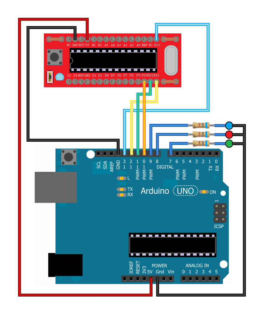 Wiring the Programmer