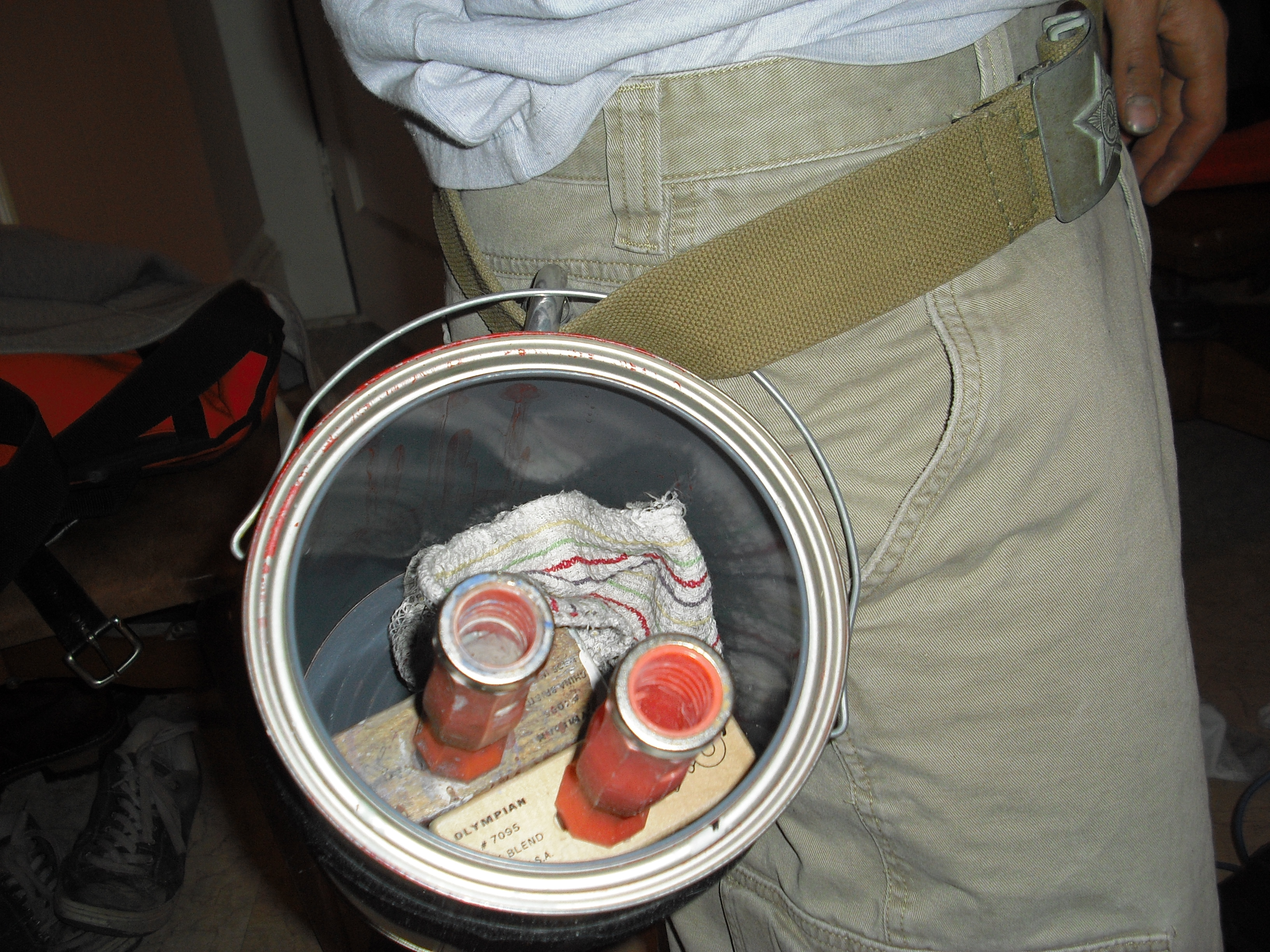 Paint Can Pocket: The Dumbest Fashion Statement