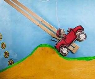 Hill Climb Cardboard Racing | DIY