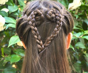 How to Do a French Braid Heart Hairstyle