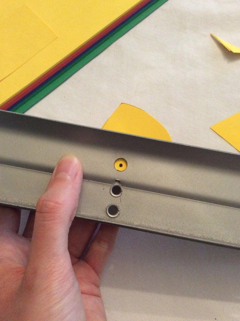 Step 2: Making the Keychain Hole