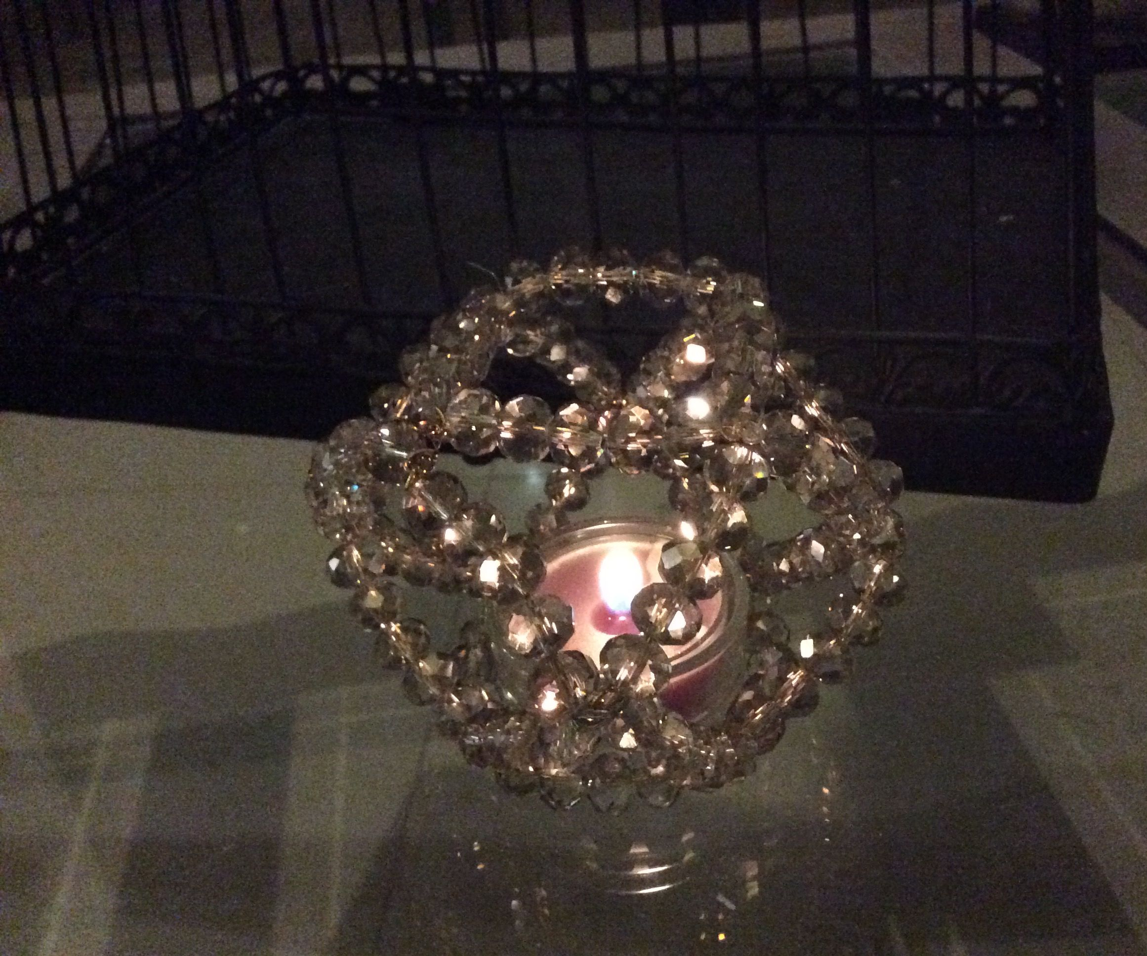 Chic Candle Holder (polygon Style)