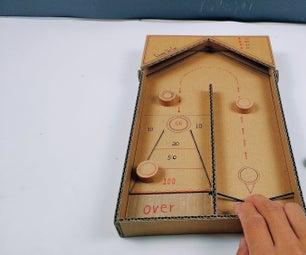 Making a Desktop Shuffleboard Game With Cardboard