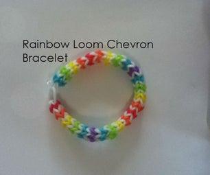 Rainbow Loom Chevron Bracelet
