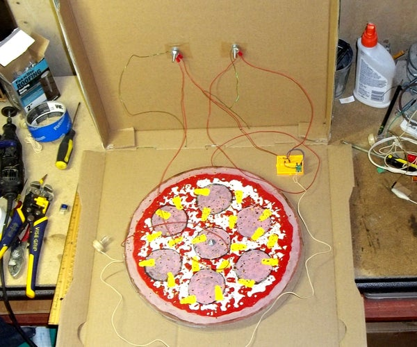 Crystal Radio to Go: a Portable, Battery-less Crystal Receiver in a Pizza Box