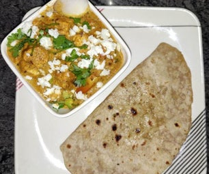 Paneer Kolhapuri Curry