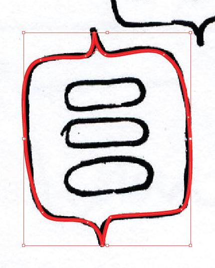 Hand Drawn to Digital Illustrations