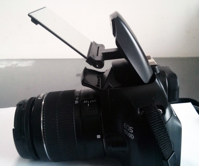 Flash diffuser/bouncer LEGO mount hack