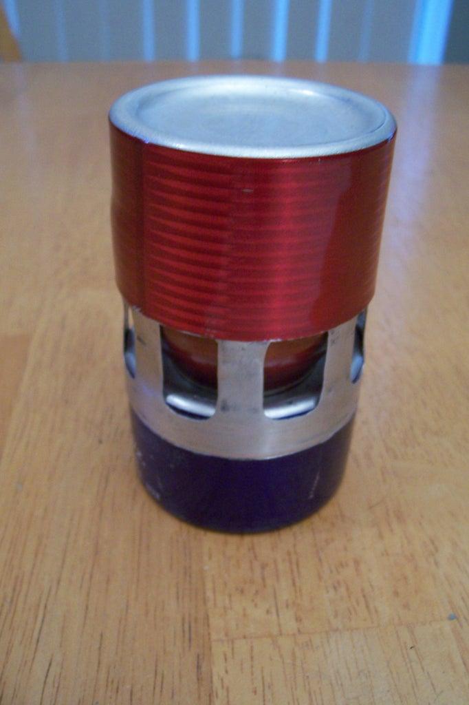 Aluminum Bottle Alcohol Stove