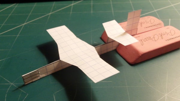 How to Make the Dragonfly Paper Airplane