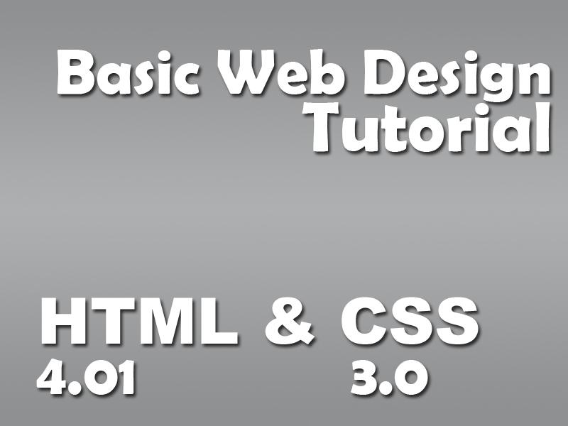 Web Designing Basics (HTML and CSS)