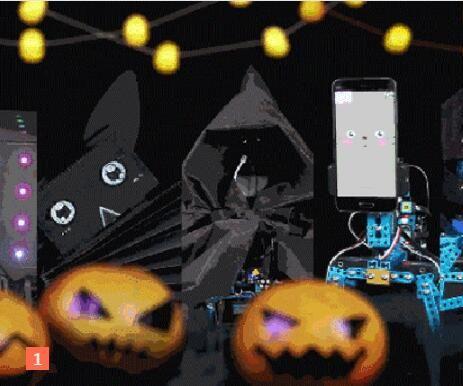 The mischievious Robots of Halloween! Part 2